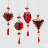 EDG Decorazione Jewel | Rosso