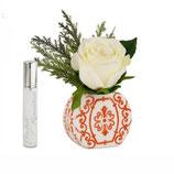 Baci Milano Vaso Tondo Mini Con Bouquet  | Corallo sconto 10%