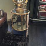 Tavolino Nicolas Blanndin gold Baxter factory
