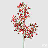 EDG Ramo Corallo Con Glitter Rosso