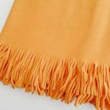 Flou Plaid Pile Arancione