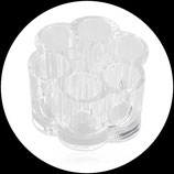 Supporto pennelli/accessori in acrilico