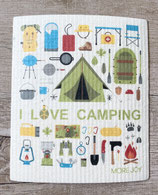Schwammtuch Camping
