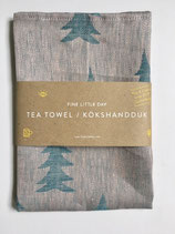 Tea Towel blue/powder