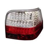 VW ゴルフ4 LEDクリアーレッドテール ウインカーもLED 110