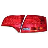 AUDI A4 S4 RS4 B7 セダン用LEDクリアーレッドテール 104