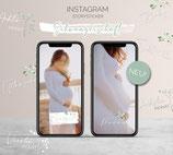 """Instagram Storysticker """"Schwangerschaft"""""""