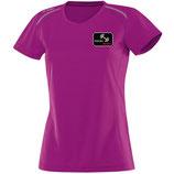 BM6115-51 T-shirt JAKO Run coupe femme Polyester-Mesh respirant ROSE