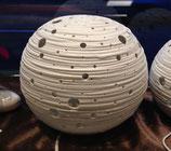 Porzellanlampe Kugel, in 2 Grössen: L oder M