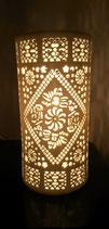 "Porzellanlampe Zylinder ""Ornamente"""
