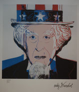 """Uncle Sam ""von Andy Warhol"
