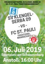 FC St. Pauli Karten- 06.07.19