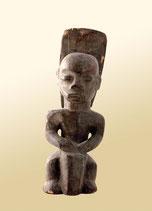 Statuette du culte Byéri de l'ethnie Fang (Gabon, Cameroun, Guinée Équatoriale)