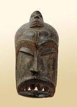 Masque de cérémonie - Guéré (Côte d'Ivoire)