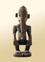 """Statuette à """"pouvoirs"""" de l'ethnie Kongo (Congo, Zaïre)"""