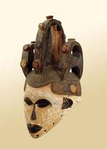 Masque heaume de danse de l'ethnie Igbo (Nigéria)