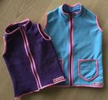Weste Softshell oder Fleece // Wunschgröße 50 bis 134 // Stoffauswahl
