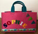 Filztasche // Auswahlstoffe // verschiedene Designs // Kindertasche aus Filz
