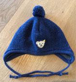 Wintermütze // Steiff // Gr. 43 cm Kopfumfang // mit Fleece // dunkelblau