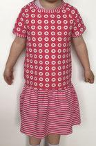 Jerseykleid kurzarm / Wunschgröße 44 bis 134 / Auswahlstoff