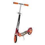 Cityroller Tretroller für Kinder in schwarz/rot