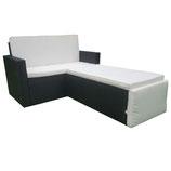 Polyrattan Gartenmöbel Relax-Lounge für 2 Personen