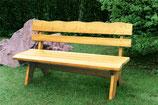 Holz Gartenbank 4-Sitzer, Kiefer massiv 200cm
