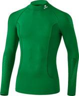 Erima Elemental Longsleeve mit Stehkragen smaragd
