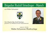 BGDR RUDOLF STRIEDINGER MARSCH
