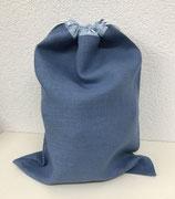 Brotsack blau-hellblau