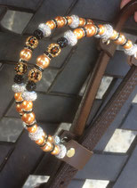 JUWEL EARS BLING Copper/black/panter **SOLD**
