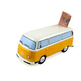 VW T2 BUS SPARDOSE KERAMIK (1:22)  - ORANGE (T2MB01)