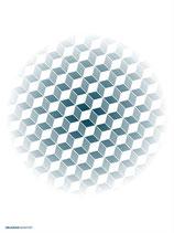 blue ball dark 60 x 80 cm, Limited Edition