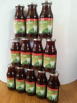AuraDENT vital 12er-Paket- Zahnpflege zum Trinken | Gemüse-Fruchtsaft