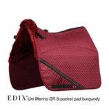 Edix Uni dressuur Merino 8-Pocket zadelonderlegger