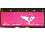 Champagner + Himbeeren