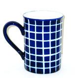 Tasse 'blau-weiß'