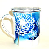 Tasse & Filter 'Blue Flowers'