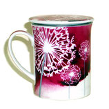 Tasse & Filter 'Pink Flowers'