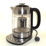 Tee- und Wasserkocher mit Temperaturwahl