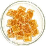 Ingwerstücke kristalliert