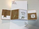 Grosse Hochzeitskarte