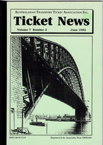 Ticket News  June 1992