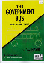a RARE SPECIAL! THE GOVERNMENT BUS IN NEW SOUTH WALES  by VJ Hayes