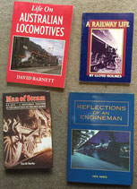 NEW Book Collection:  memories of steam by railwaymen