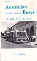 Australian Buses by LJ Pascoe