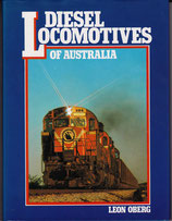 Diesel Locomotives of Australia by Leon Oberg