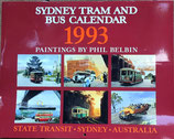 Paintings by Phil Belbin   Sydney Road Transport Bus and Tram