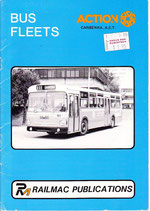 Action Canberra bus fleets 1984