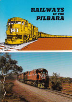 Railways in the Pilbara by John Joyce and Allan Tilley